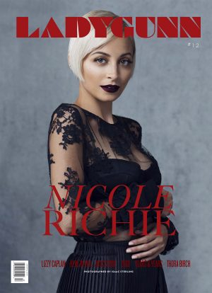 LADYGUNN #12 NICOLE RICHIE PRINT–SOLD OUT