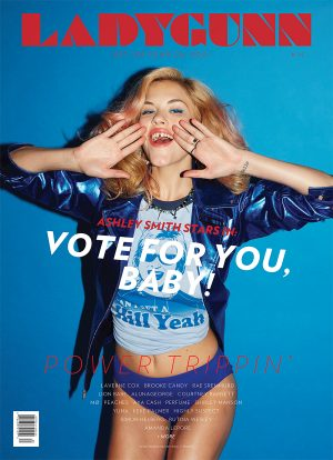 LADYGUNN #14 VOTE FOR YOU,  BABY! STARRING ASHLEY SMITH– Digital