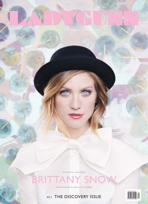 LADYGUNN #11 BRITTANY SNOW DIGITAL