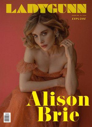 PREORDER: LADYGUNN #18 ALISON BRIE – DIGITAL