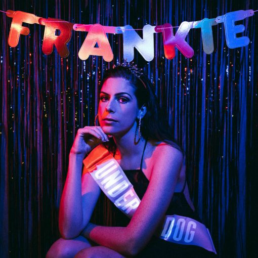"POP SINGER FRANKIE TAKES HER PLACE AS AN ""UNDERDOG"" IN BRAND NEW TRACK"